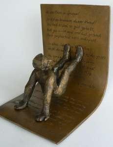 Figur C, bronzepatiniert