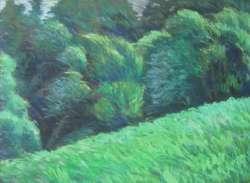 Wiesenrand II, 80 x 60 cm, verkauft