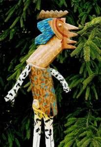 Wassermann, Höhe 175 cm, Detail